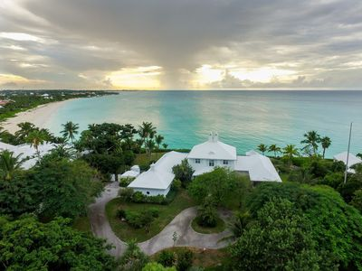 Photo for Luxurious, full service, 8000 Sq Ft Ocean Front Villa W/ Pool & Guest Cottage