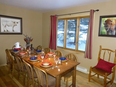 Photo for Townhouse, Downtown Jackson Hole By The Ski Slopes, 5 Miles To Grand Teton Park