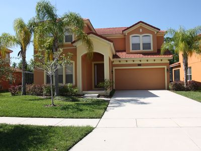 Photo for Great Reviews! 4 bedroom, 4 bathroom near Disney with South Facing Pool & Spa