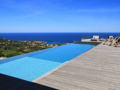 Photo for Villa 8pers, private pool, panoramic sea view air conditioning, wifi