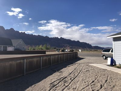 Photo for MoabParadise! Home on 2.5 acres. Dogs welcome!! :)