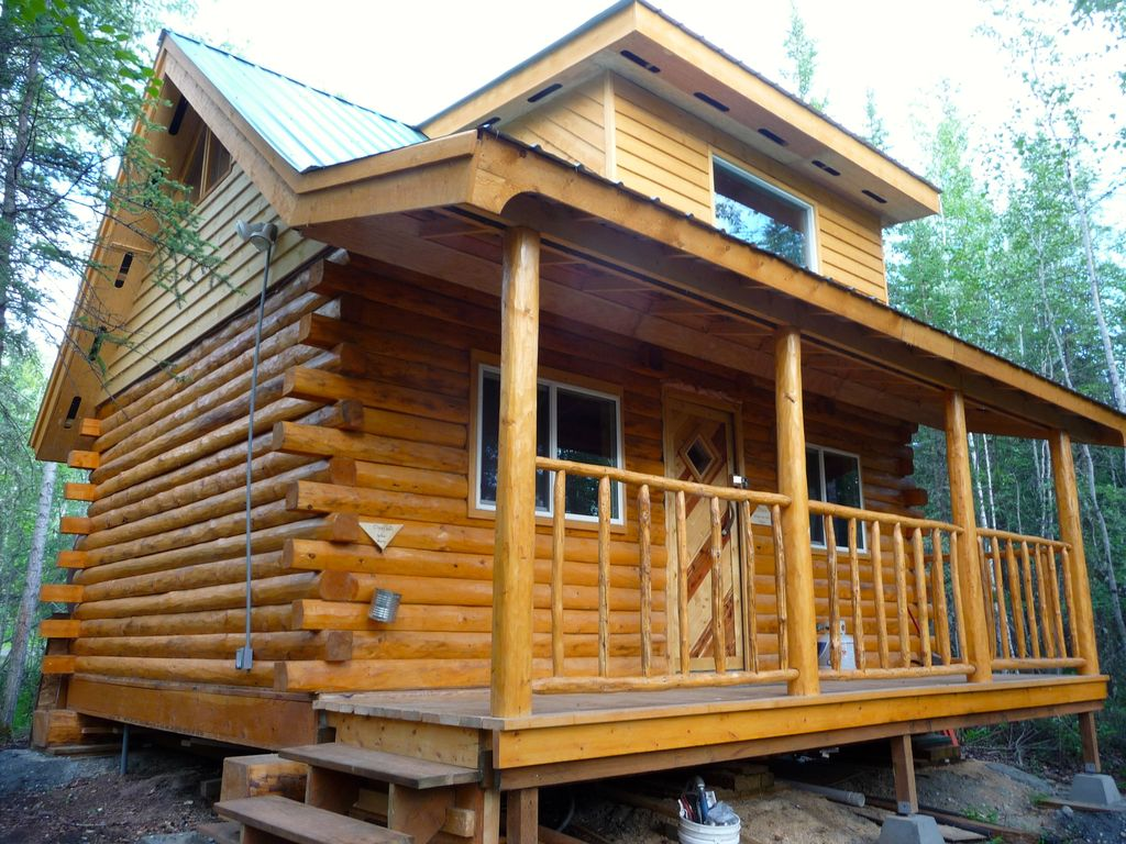 Charming forest cabin -sled dogs - Fairbanks