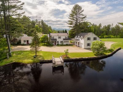 Photo for 70 Acres, 9 Bedrooms, Hiking Trails, Fly Fishing, Country Retreat