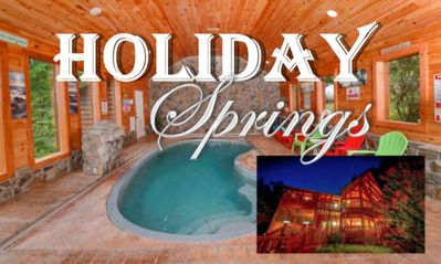 Photo for NEW! PRIVATE HEATED POOL, HOLIDAY THEME, 3 KING SUITES + BUNK ROOM, 2 ACRES!