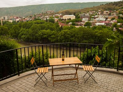 Photo for Apartment with terrace in Old Tbilisi