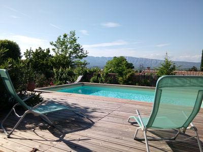 Photo for villa of full foot with swimming pool between ix in Provence and the creeks of Cassis