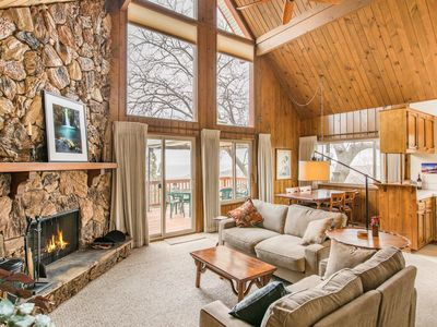 Photo for Epic Valley Views - Private Deck, Huge Master Suite & River Rock Fireplaces