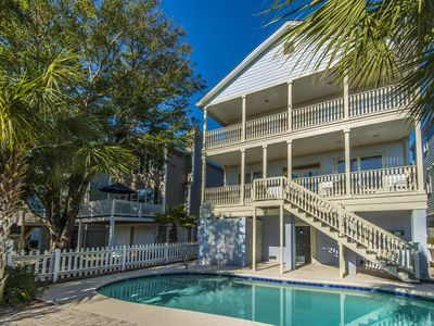 Photo for 3 Night Minimum for Summer Season, Golf Cart & Private Pool-Family Tides IOP