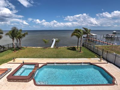 Photo for Waterfront Titusville Resort Home w/Pool & Hot Tub