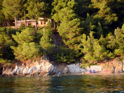 Photo for Traditional villa Seagullstone, with private beach and magnificent view
