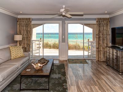 Photo for Dune Villas 4A: 1 BR / 1 BA Beachfront Condo in Seagrove Beach