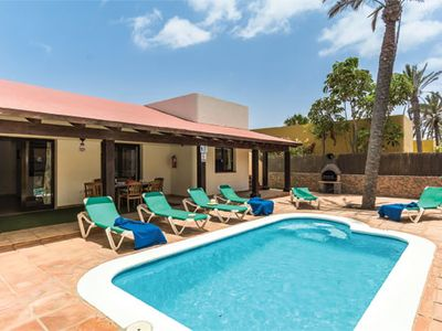 Photo for Spacious villa for 6 near resort facilities with free Wi-Fi & private pool