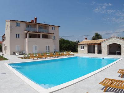 Photo for Holiday apartment for 6 persons in village Rakalj, shared pool, peaceful area