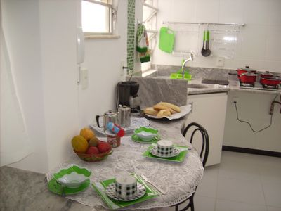 Photo for Confortable separated bed and living room in the heart of Ipanema