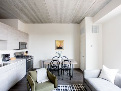 Photo for Industrial 1BR in Wicker Park by Sonder