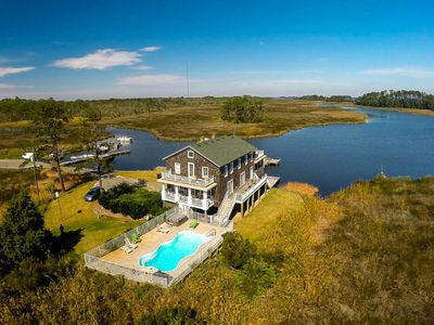 Photo for Waterfront 5 BR house near Outer Banks, NC! Inquire about SPECIALS!!