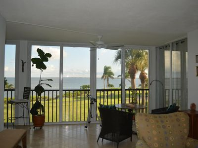Photo for Waterfront Condo with views from every room. Short walk to beautiful beaches.