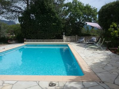 Photo for Apartment 4 people, Ground Villa - Roquebrune sur Argens