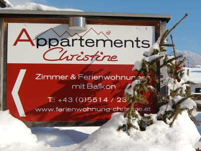 Photo for Apartment 2-3 pers. - Apartments Christine welcomes you!