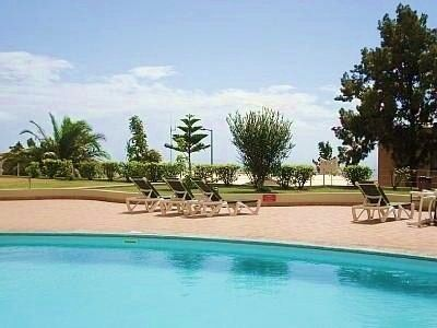 Photo for Sunny Sea View Apartment with WIFI and Pool in Garajau (Reg:2613/AL)