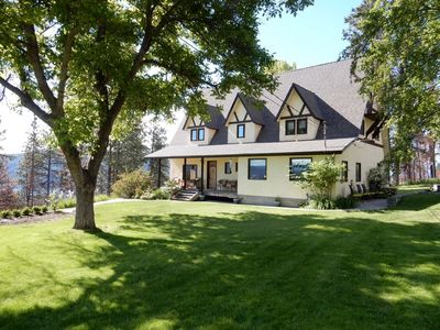 Photo for Quiet Country Tudor Home on Acreage with Incredible Lake and City Views