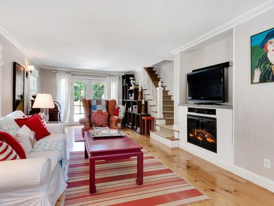 Photo for Lux Comfort and Space in E Hampton! Ralph Lauren Decor, ParkLike Setting, Pool!