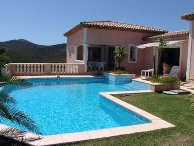 "Photo for Villa 4 ch in ""Park"" Fabulous view of the Moors and the sea-great calm-Wi fi"