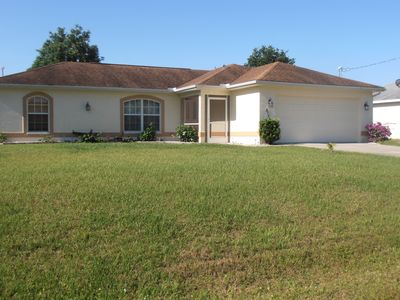 Vacation rental in North Port, 3 bedroom with pool near warm mineral springs