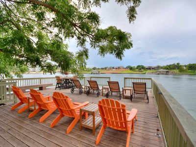 Photo for Waterfront, fabulous views, sunsets and relaxation - *New Game and Media Room*