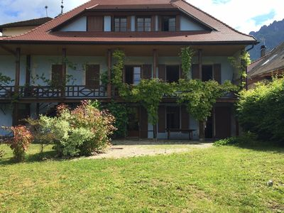 Photo for MENTHON-ST-BERNARD, Spacious house, village center 12 pers