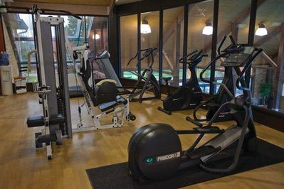 Carriage Ridge Resort Fitness Center.