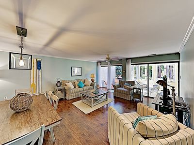 Photo for Updated Gem w/ New Furniture & Lagoon Views, Walk to Beach & Forest Preserve