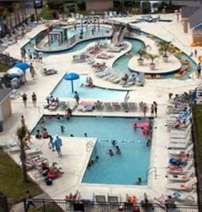 Our Lazy River, Kiddie Pool & Water Play Area  and Adult Pool