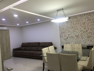 Photo for Triplex House 3 Suites in Gonzaga in condominium, garage and barbecue