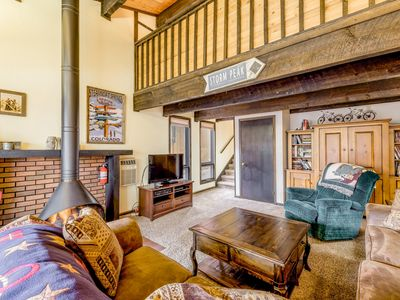 Photo for Tri-Level Steamboat Springs Townhome - Private Hot Tub, Minutes to Ski Area