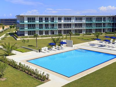 Photo for Luxury apartments with a sea view located in a residence right on the beach