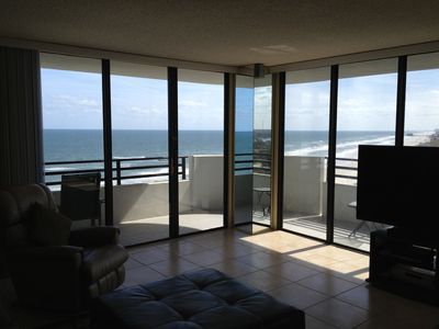 Photo for Oceanfront End Unit, Amazing Views from Every Room, 15th Floor Upscale Paradise.