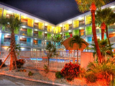 Photo for Pelican Pointe Condo/Hotel Unit #123 Affordable Efficiency in the Heart of Clearwater Beach!