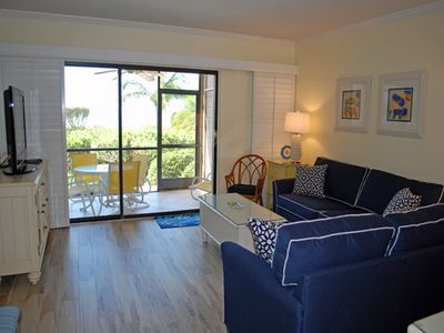 Photo for Coquina Beach 1C, 2 Bedroom Gulf Front Ground Level Condo