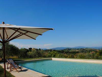 Photo for Wonderful Renaissance villa at the gates of Florence with exclusive pool!