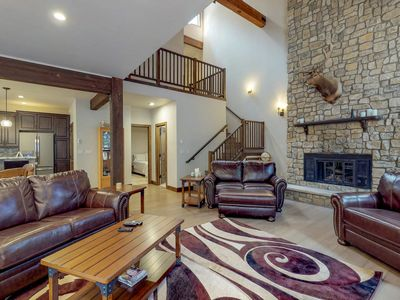 Photo for Luxurious East Vail home on Gore Creek w/ washer/dryer, hot tub, & free WiFi