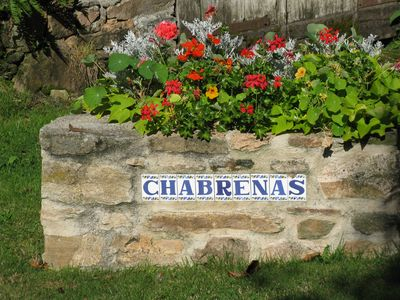 entrance to Chabrenas
