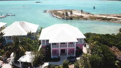 Photo for Spectacular Oceanfront Luxury Villa in February Point, Great Exuma