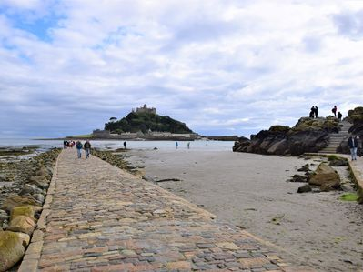 Mount's Bay and St Michael's Mount just moments from your door