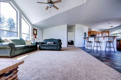 You'll love the home's spacious and open floor plan.
