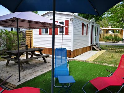 Photo for 6 seater air-conditioned mobile home