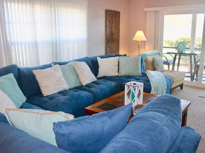 Photo for Beachy condo with shared pool, right across the street from the beach!