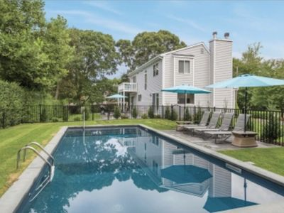 Photo for Renovated Sag Harbor Home By The Bay: Pool, Water Views & Walk To Beach & Town