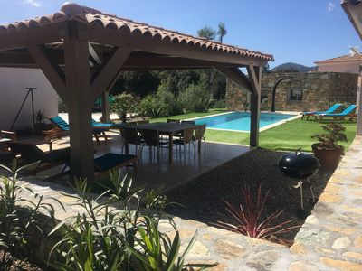 Photo for Domaine Vermentinu, comfortable villa with private pool, 4 bedrooms