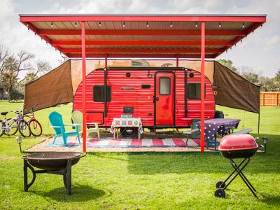Photo for Glamping!  Ruby Any Day w/pool access